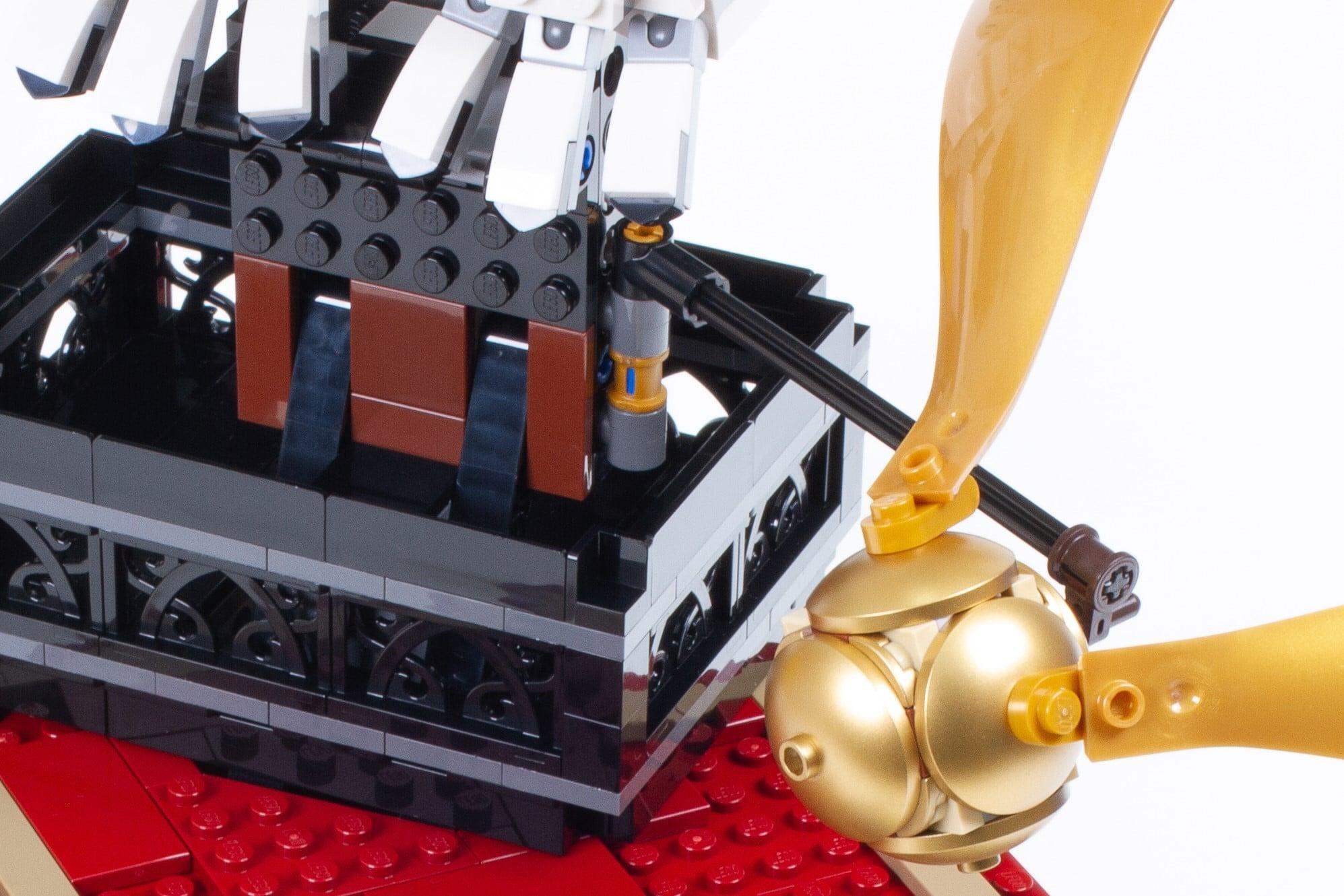 LEGO 76391 Hogwarts Icons Review Schritt 18 16 Detail