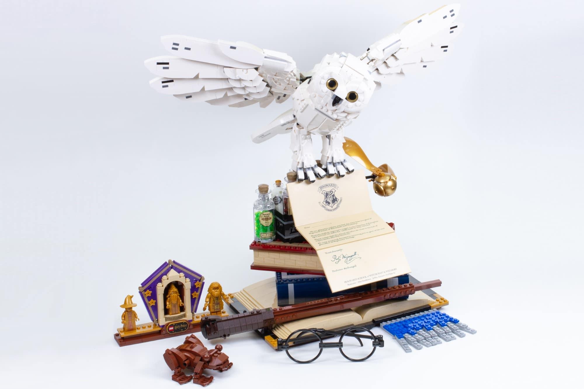 LEGO 76391 Hogwarts Icons Review Schritt 22 12
