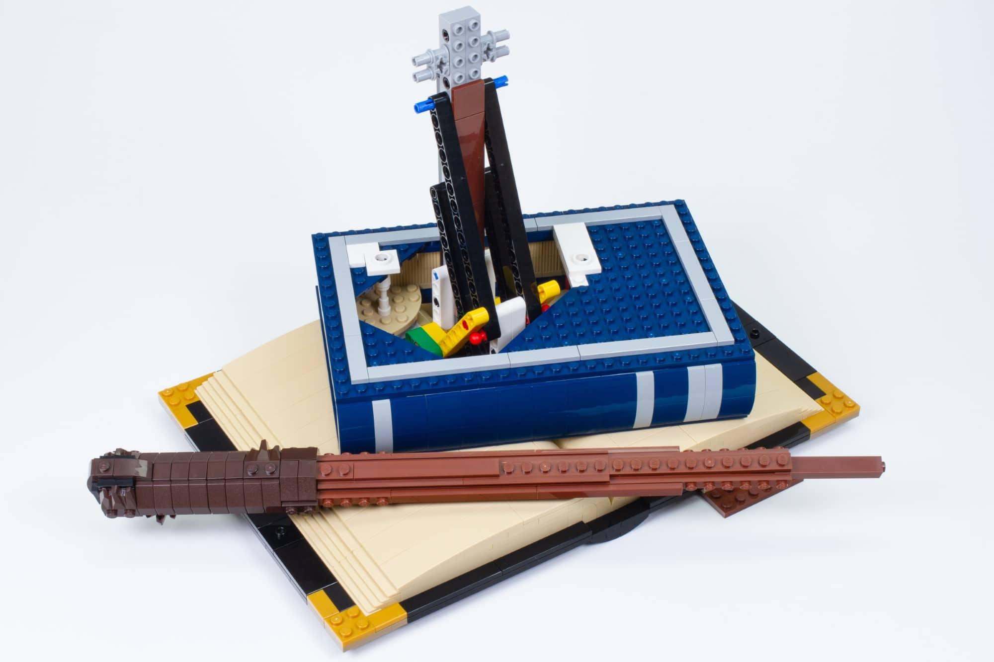 LEGO 76391 Hogwarts Icons Review Schritt 7 4