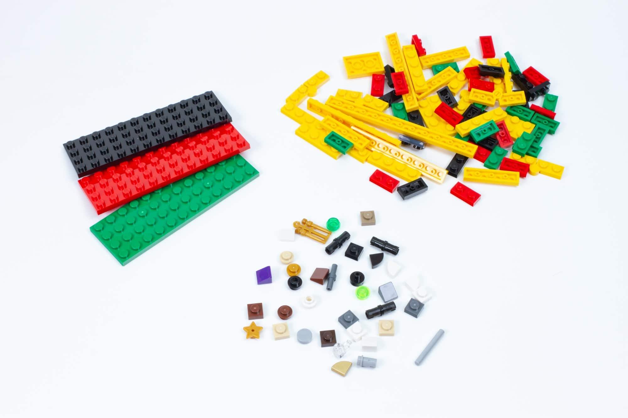 LEGO 76391 Hogwarts Icons Review übrige Teile