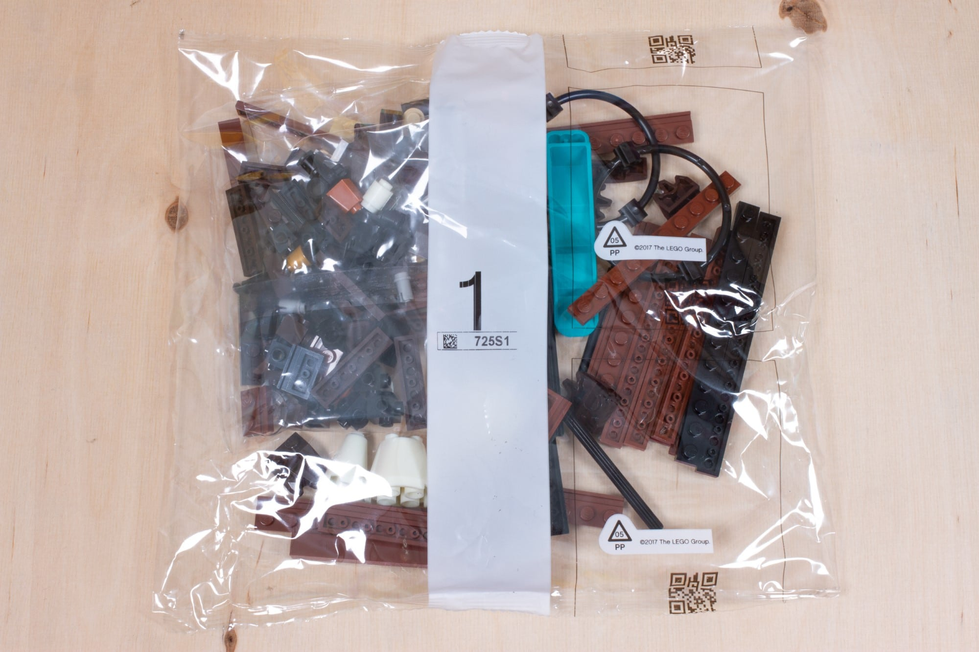 LEGO 76391 Hogwarts Icons Review Unboxing 1 Schritt 1