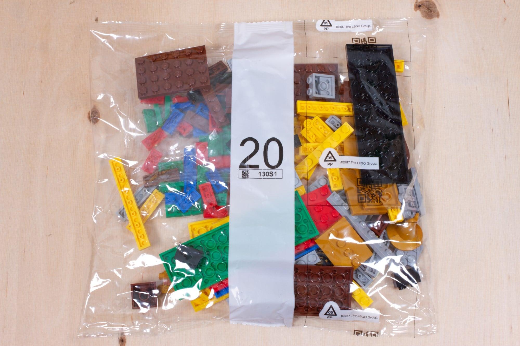 LEGO 76391 Hogwarts Icons Review Unboxing 1 Schritt 20