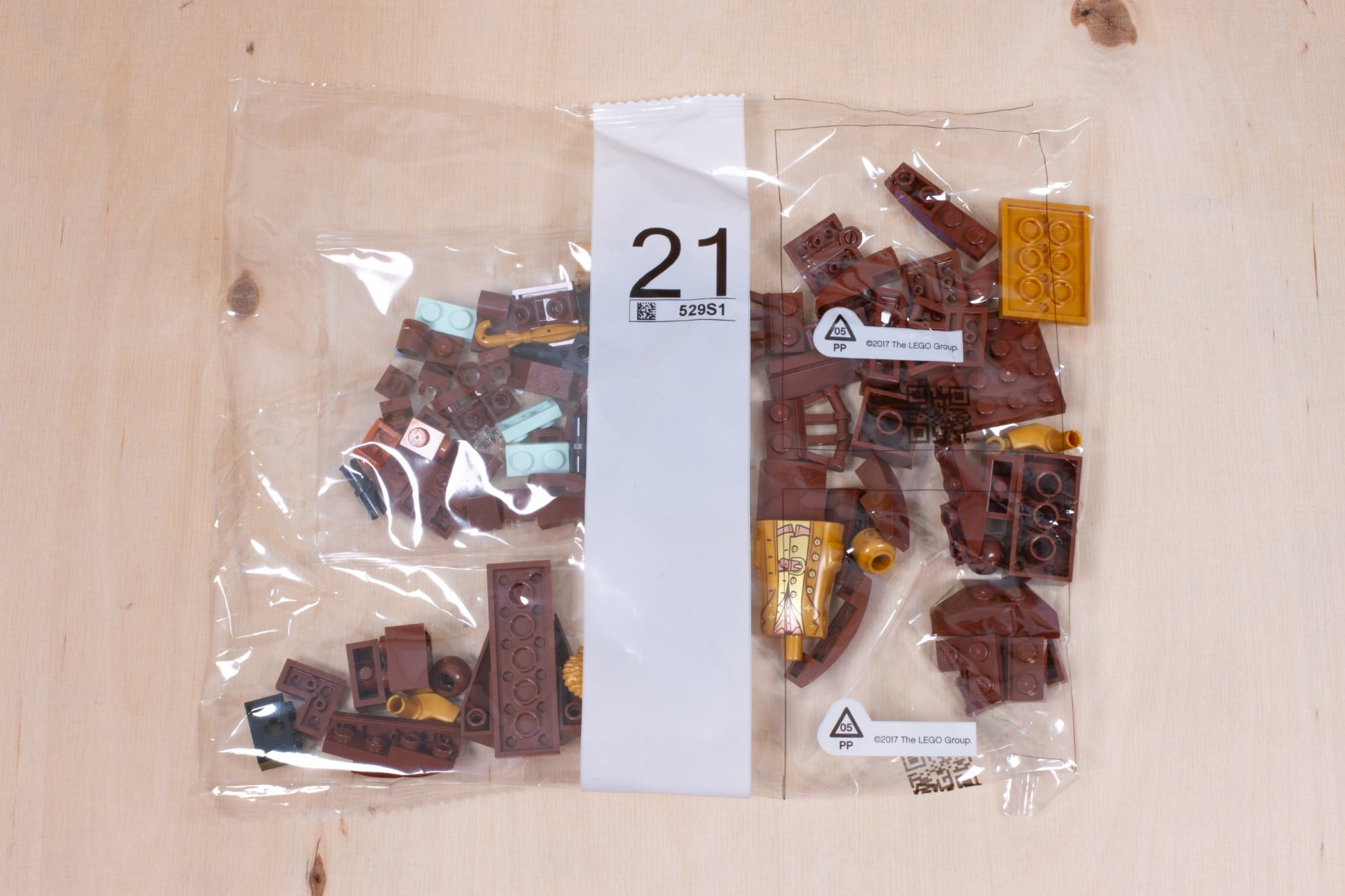LEGO 76391 Hogwarts Icons Review Unboxing 1 Schritt 21