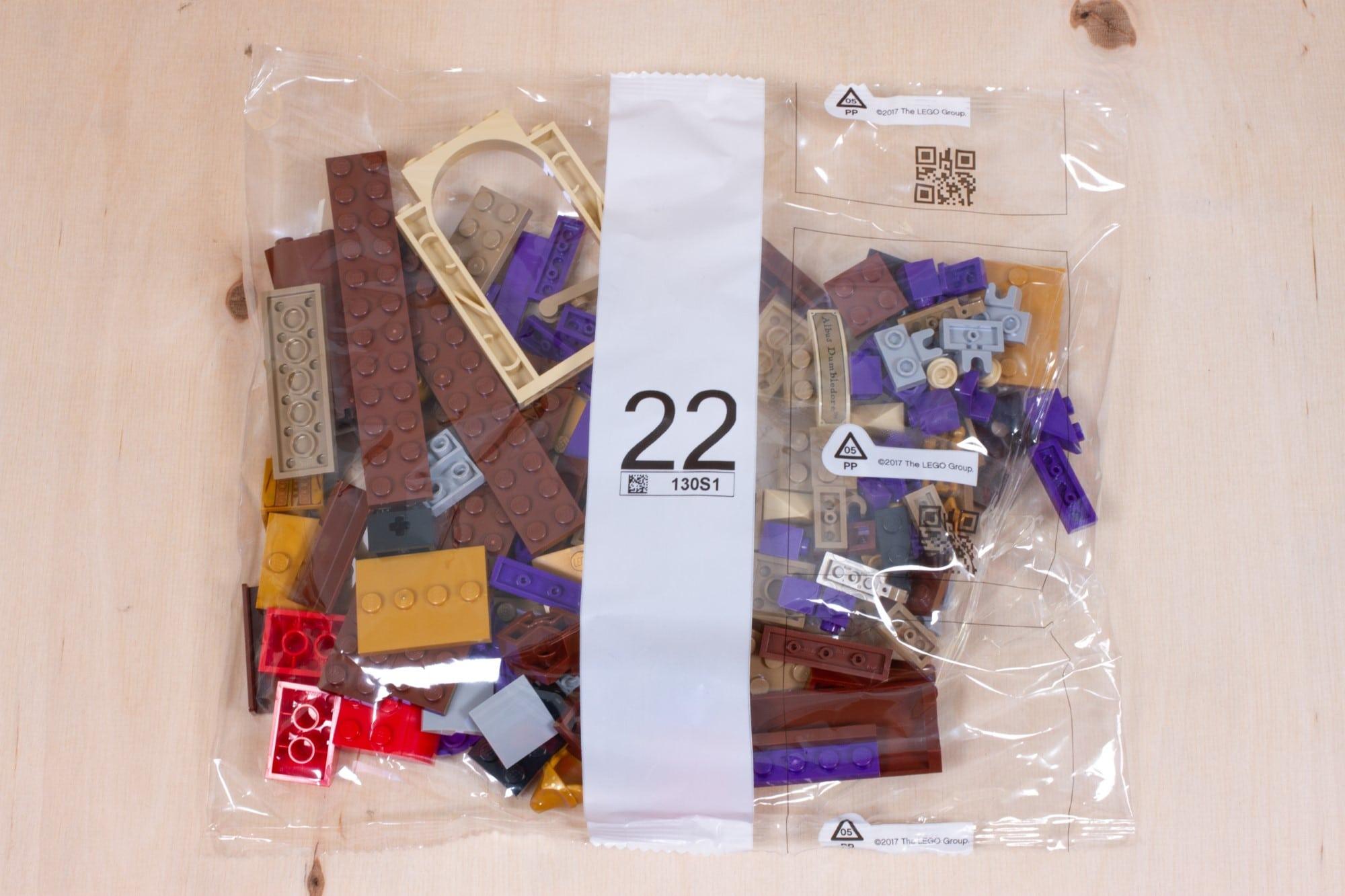 LEGO 76391 Hogwarts Icons Review Unboxing 1 Schritt 22