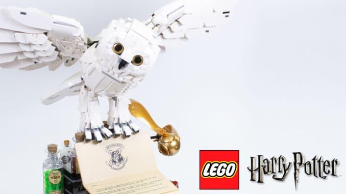 LEGO 76391 Hogwarts Icons Reviewtitel