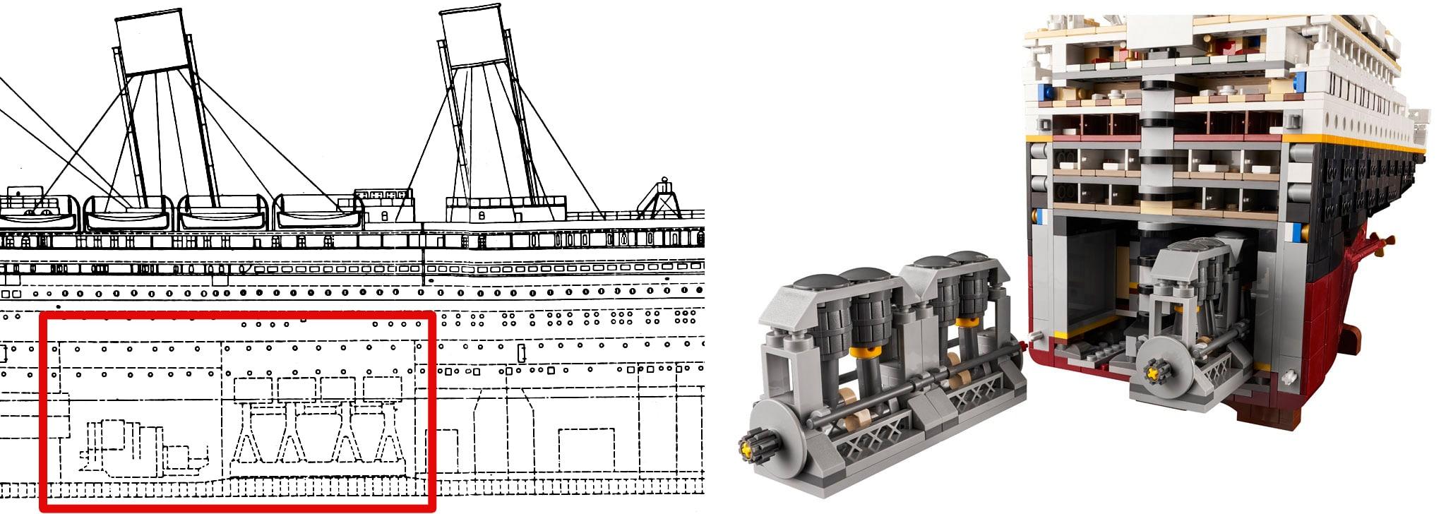 LEGO 10294 Titanic Vergleich Vorlage 3