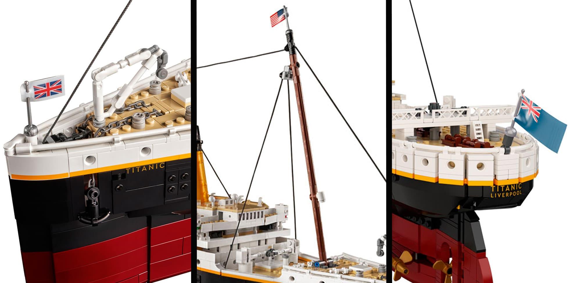 LEGO 10294 Titanic Vergleich Vorlage 5