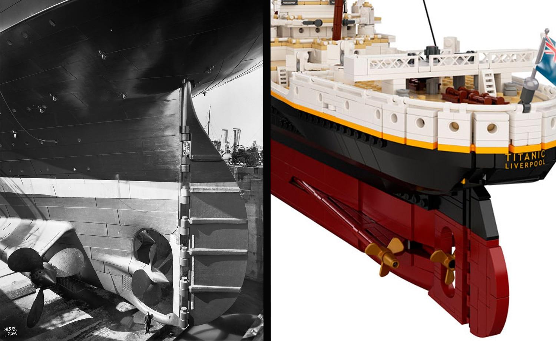 LEGO 10294 Titanic Vergleich Vorlage 6