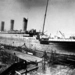 Titanic Auf Der Werft