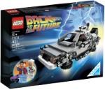LEGO 21103 DeLorean Zeitmaschine