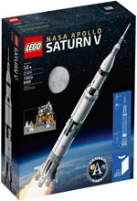 LEGO 21309 LEGO NASA Apollo Saturn V