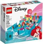 LEGO 43176 Arielles Märchenbuch