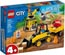 LEGO 60252 Bagger auf der Baustelle