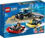 LEGO 60272 Transport des Polizeiboots