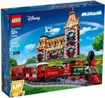 LEGO 71044 Disney Zug mit Bahnhof