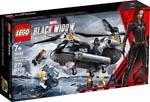 LEGO 76162 Black Widows Hubschrauber-Verfolgungsjagd