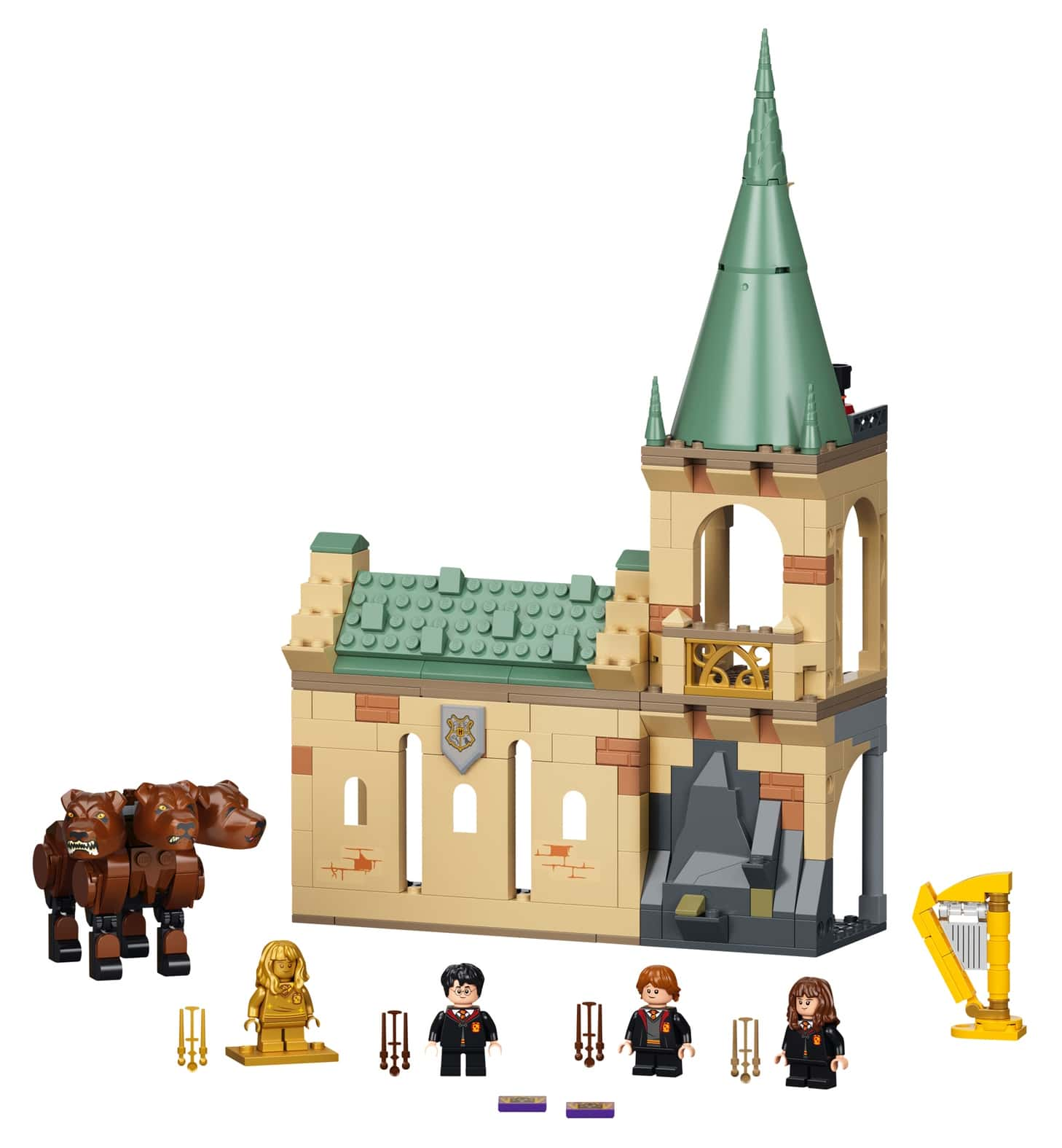 LEGO Harry Potter 76387 Begegnung Mit Fluffy 1