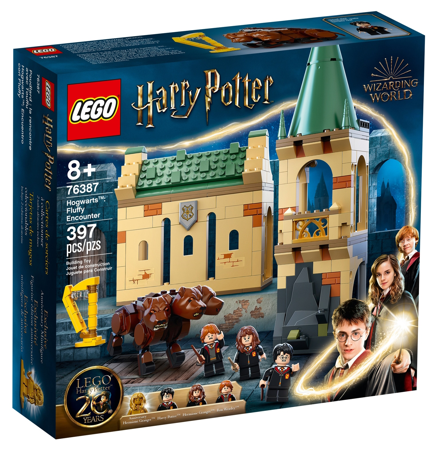 LEGO Harry Potter 76387 Begegnung Mit Fluffy 2