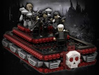 LEGO Ideas Welcome To The Black Parade (1)