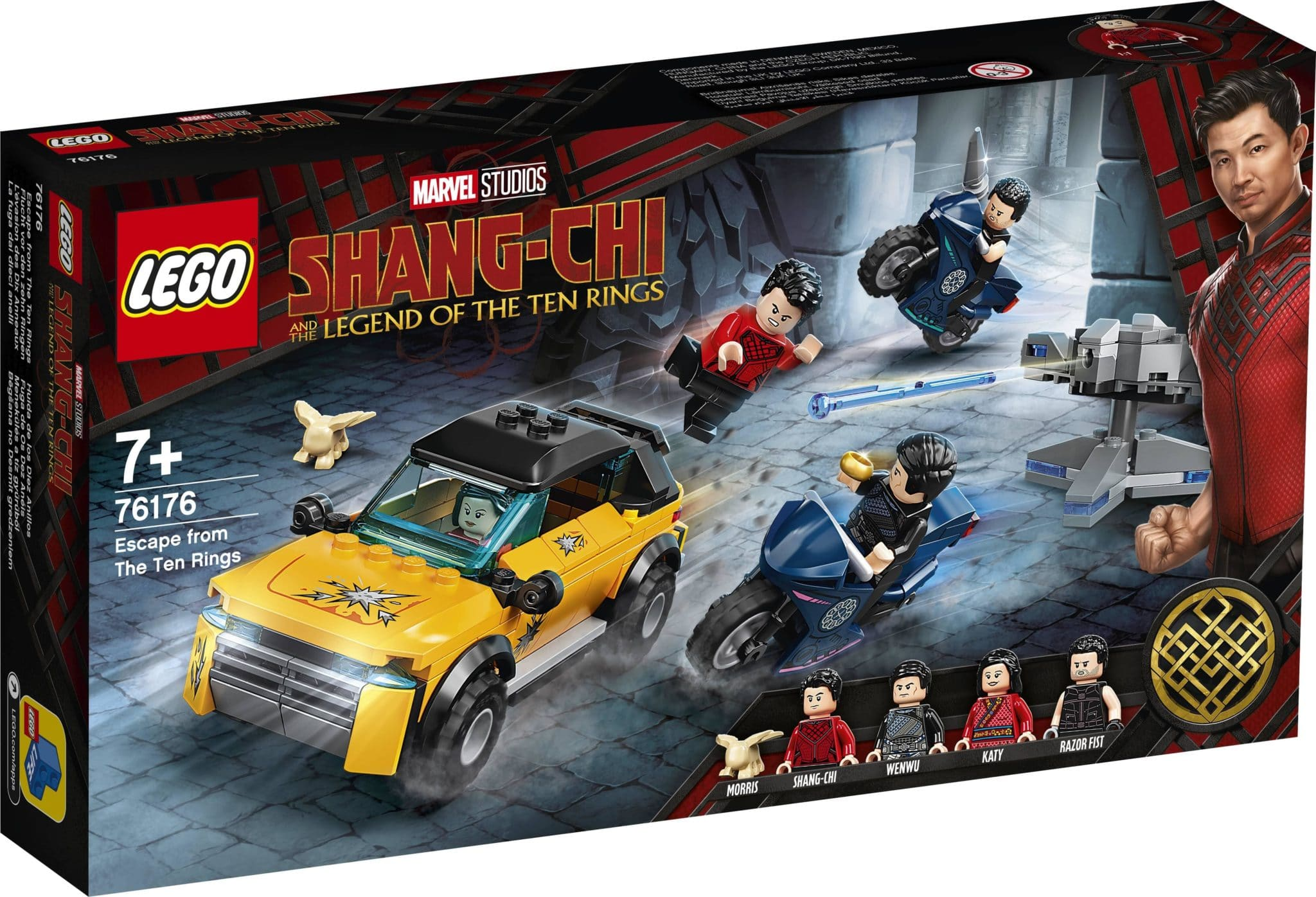 LEGO Marvel 76176 Shang Chi Escape From The Ten Rings