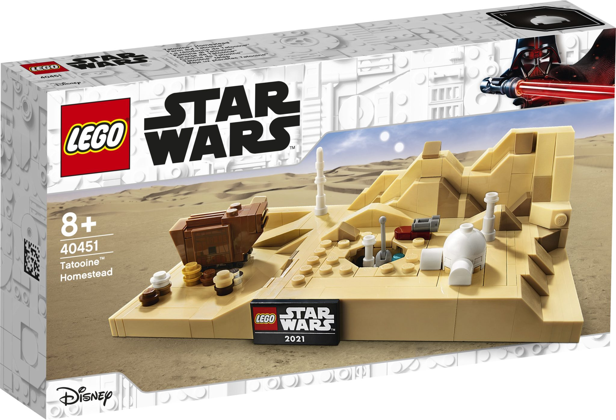 LEGO Star Wars 40451 Tatooine Homestead 1