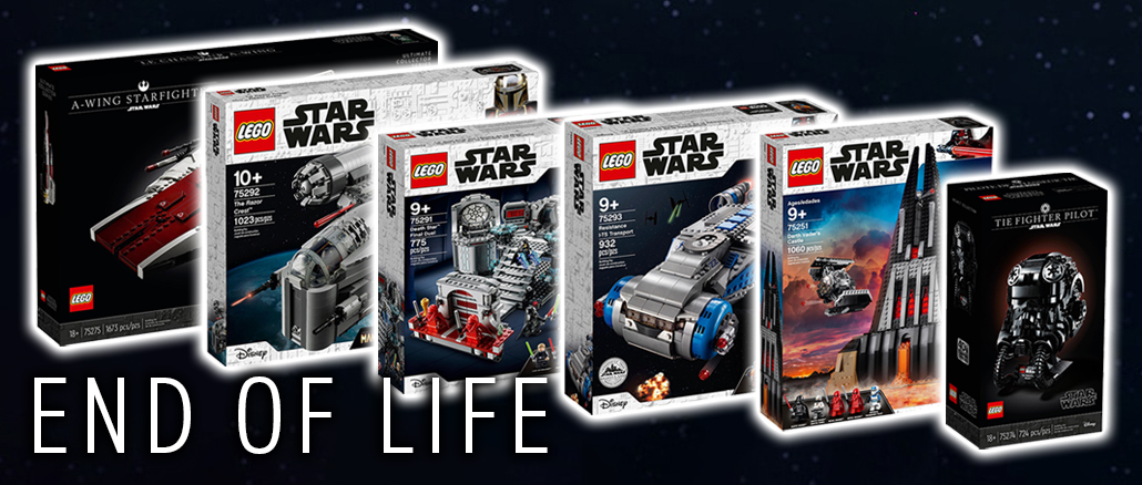 LEGO Star Wars End Of Life 2021