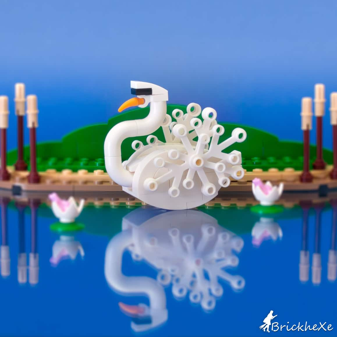 Brickhexe The Swan Round 6