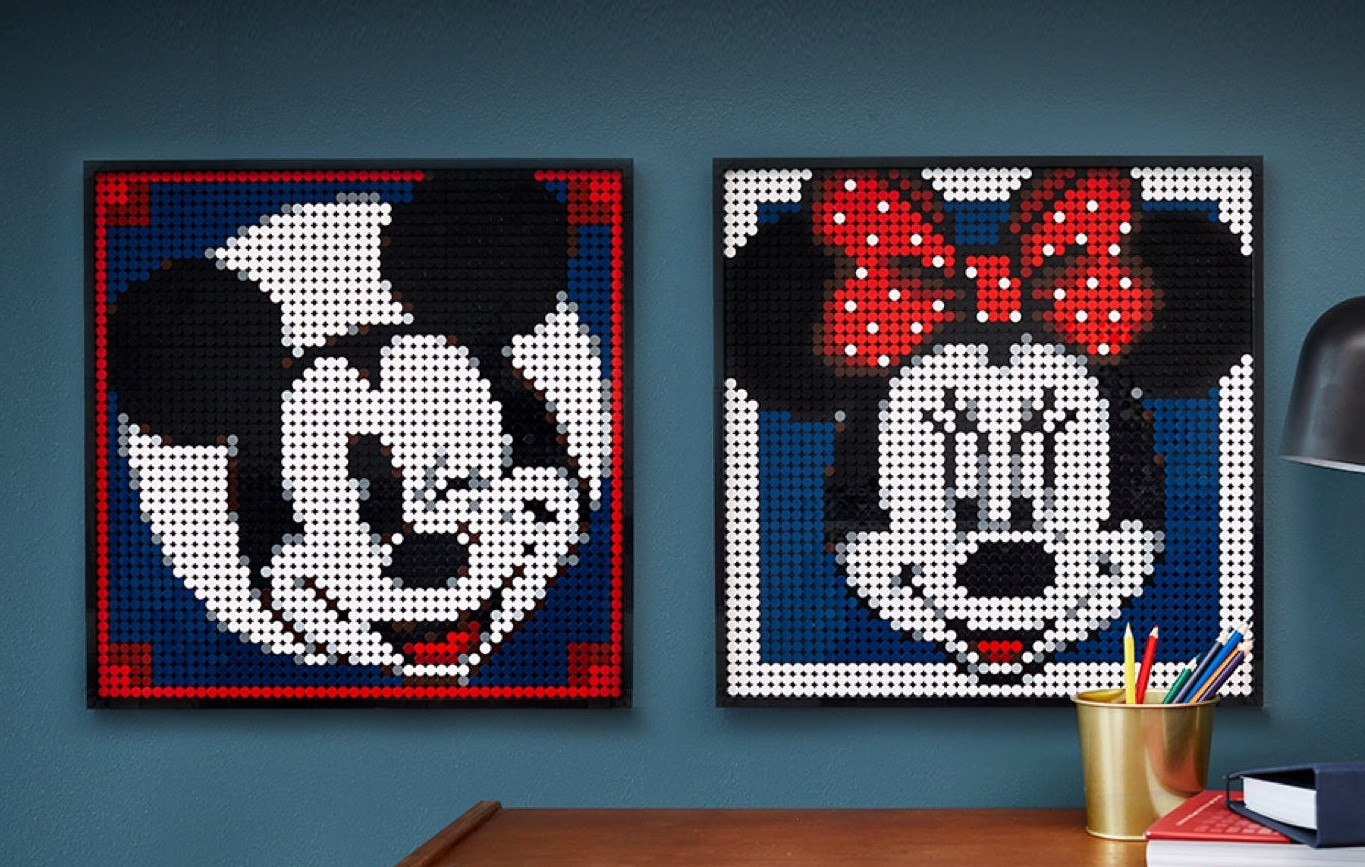LEGO 31202 Mickey ,mosaik Alternativ Motive 01jpeg